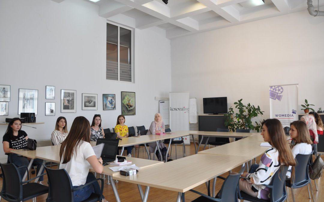 """""""Womedia"""" – Takimi i pjesëmarrëseve të muajit korrik"""