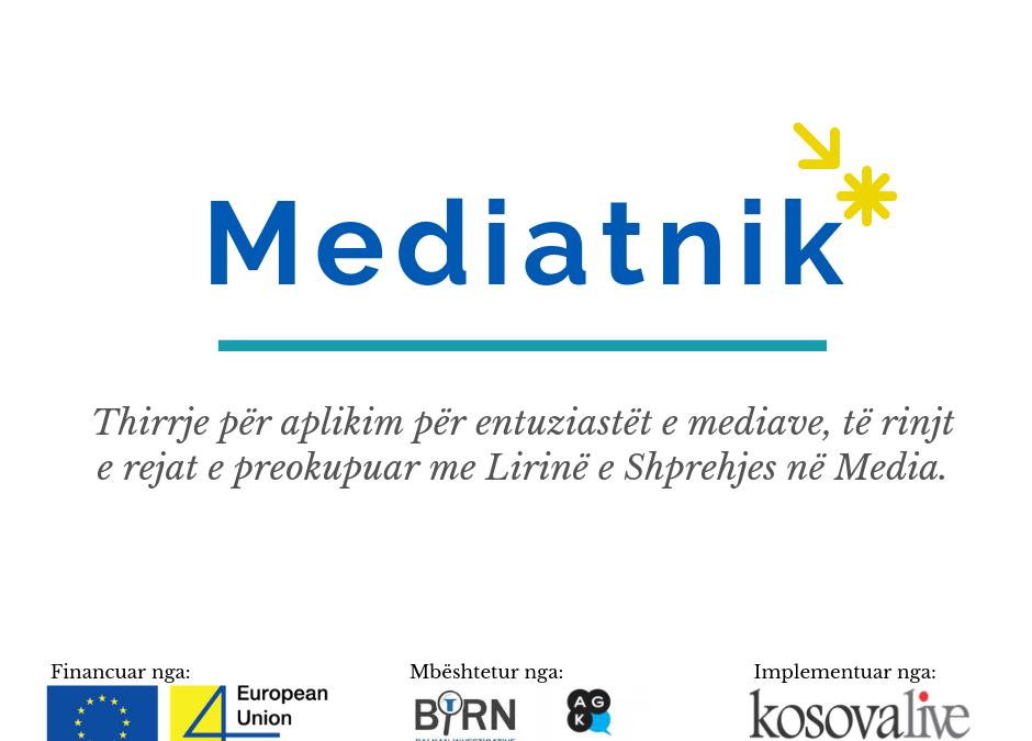 "Call for applications for ""Mediatnik"""