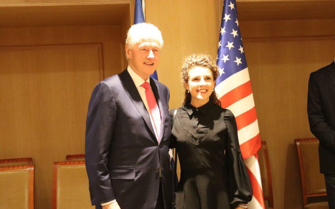 KosovaLive në takim me Bill Clinton