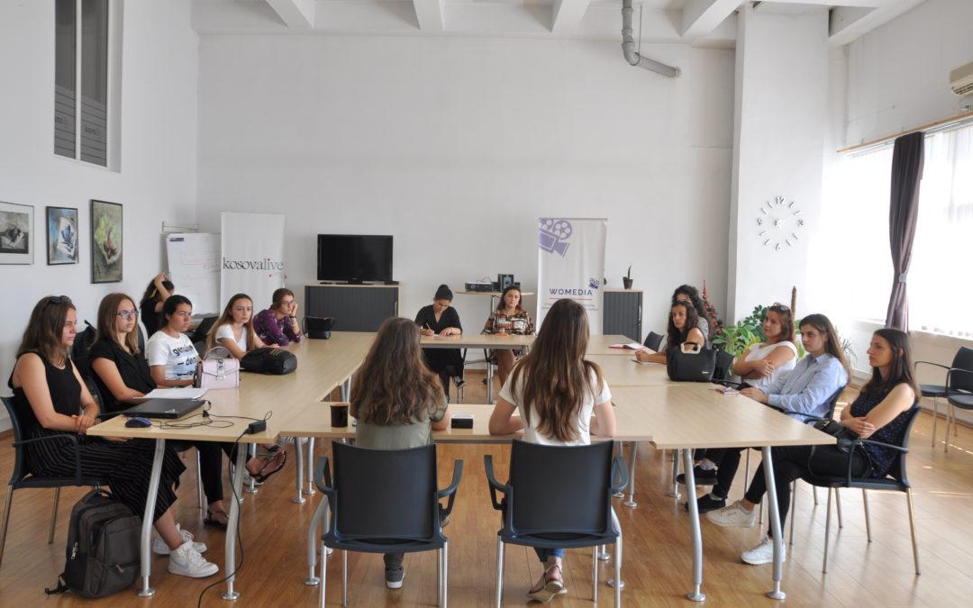 """""""Womedia"""" – Takimi me pjesëmarrëset e muajit gusht"""